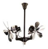 """Circa 1925 16"""" Diehl """"Gyro"""" Ceiling Fan"""