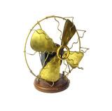 "Circa 1900 All Original 8"" Richmond Portable Battery Fan"