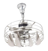 "16"" Restored Victor Zephyr Rotating Breeze Spreader Ceiling Fan"