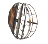ORIGINAL CEILING MOUNTED VICTOR BREEZE SPREADER GUARD/CAGE COPPER FLASHED