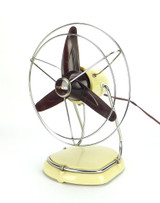 Circa 1930's Pifco Modernistic Desk Fan