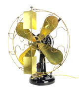 "Circa 1909 16"" Westinghouse Vane Oscillating Desk Fan"