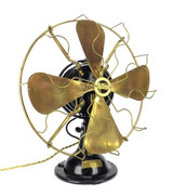 "Circa 1915 16"" Menominee Snowflake Oscillating Table Fan"