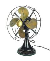 """Circa 1920 Emerson Model 27645 9"""" Desk Fan"""