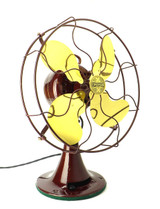 "Circa 1929 12"" Emerson Type 29646 Professionally Restored Desk Fan"