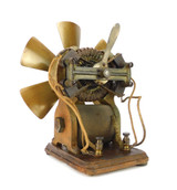 1890 Early Bipolar Motor In The Manner Of Edison Slow Motor Utility