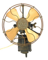 "GEC 10"" Wall Fan Circa 1910 England"
