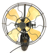 "EMI 12"" Circa 1910 Wall Mount Fan UK"