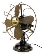 """Original 12"""" Western Electric Hawthorn Sidewinder Desk Fan"""