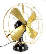 "Circa 1908 16"" FWEW Big Motor Yoke Desk Fan"