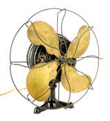 "Circa 1900 FI1 12"" Emerson ""Tripod"" Desk Fan"