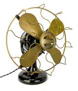 "Circa 1911 12"" Western Electric Hawthorn ""Tank"" Table Fan"