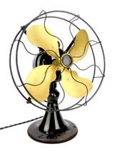 "Circa 1925 Emerson Type 28646 12"" Desk Fan"