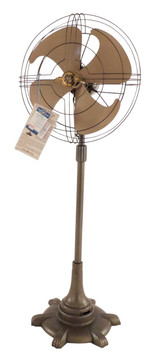 """New Old Stock 1947 GE 16"""" Vortalex Pedestal Fan"""