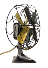"Circa 1920's Alliance MFG. ""Quick Heat"" Microphone Fan Heater"