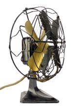 "Circa 1920's Alliance MFG. ""Quick Heat"" Microphone Fan Heater"