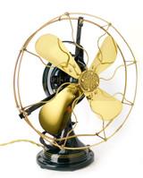 "Circa 1920 12"" General Electric GE Brass Bell Oscillator Professionally Restored"