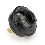 Vintage B&P Black Bakelite Oak Acorn Attachment Electric Plug Polarized
