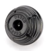 Antique Weber Divided Stepped Side Black Gutta Percha Attachment Plug