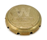 "Westinghouse 10"" Nickel Plated Cage/Guard Badge"