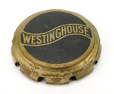 "Original Westinghouse 10"" Stamped Steel Cage/ Guard Badge"