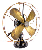 "Circa 1919 16"" GE 2 Star DC Direct Current Oscillator"