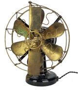 """Circa 1912 All Original 6 Blade 12"""" Westinghouse Vane Oscillator"""
