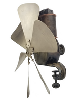 Very Rare 1888 C&C Clamp Motor Fan Outfit Type 1A 6v DC