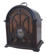 Early 1940's GE Model K-64 6 Tube Cathedral Radio