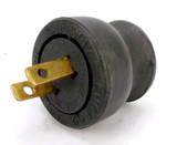 1930's Daniel Woodhead Company Chicago Hard Rubber Plug