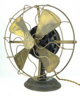 """1901 12"""" General Electric Pancake Fan"""