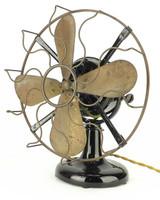 """Early 1905 12"""" Westinghouse Tank Motor Fan"""