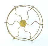 "Original Brass Cage/Guard for 8"" GE Brass Fan"