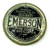 Original Emerson 2250B Cage/Guard Badge