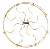 """Original 16"""" Dayton Drop Ring  Brass Guard/Cage"""