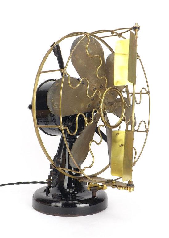 """12"""" 6 Blade Westinghouse Vane Desk Fan"""