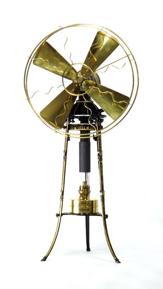 Beautiful Jost Hot Air Fan Restored