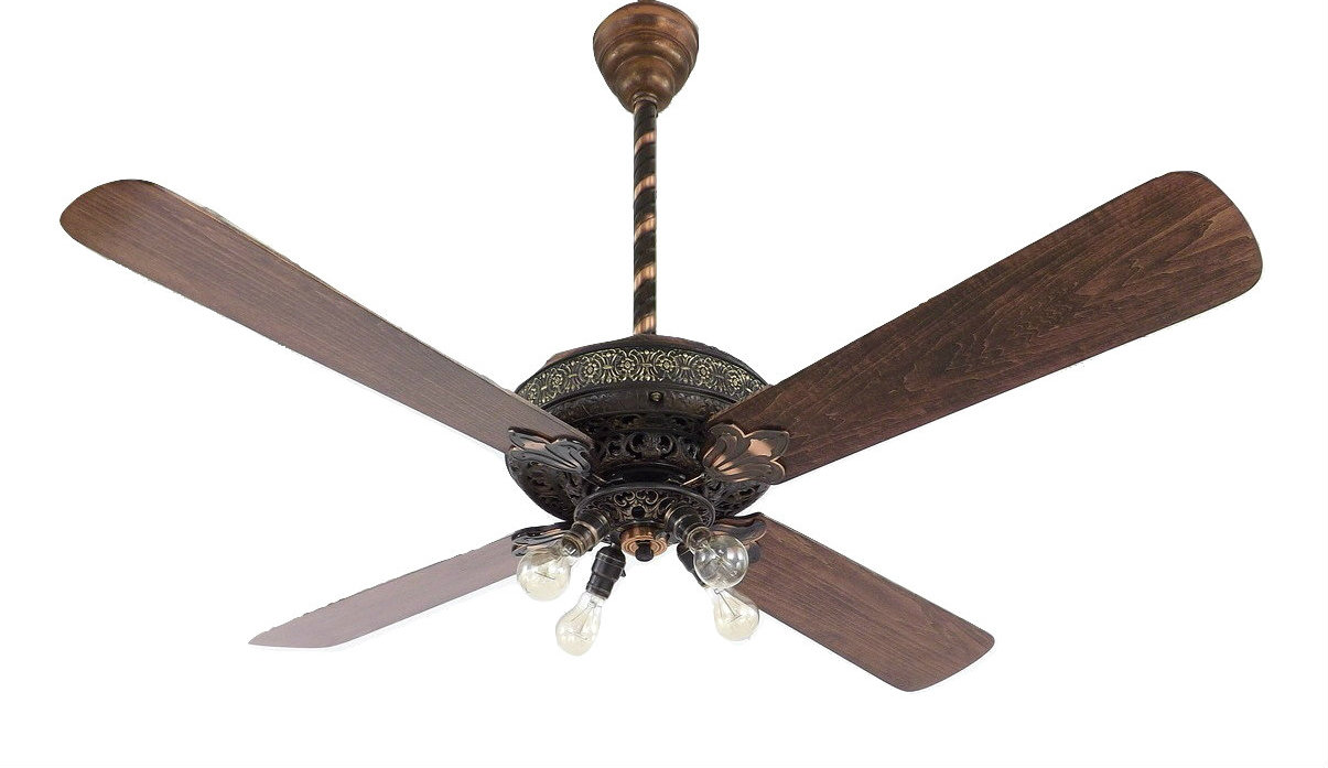 Partially Restored 1905 Westinghouse Deluxe Ceiling Fan