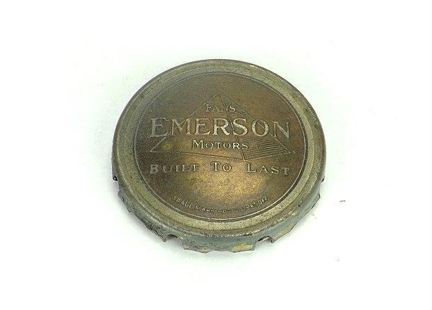 Original Emerson Bronze Pyramid Cage/Guard Badge
