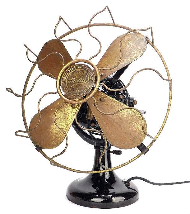 1906 Shedd Electric Tank Motor Fan