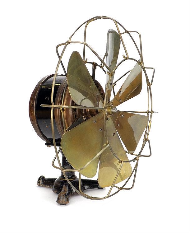 """1893 Meston Series AA 12"""" Desk Fan"""