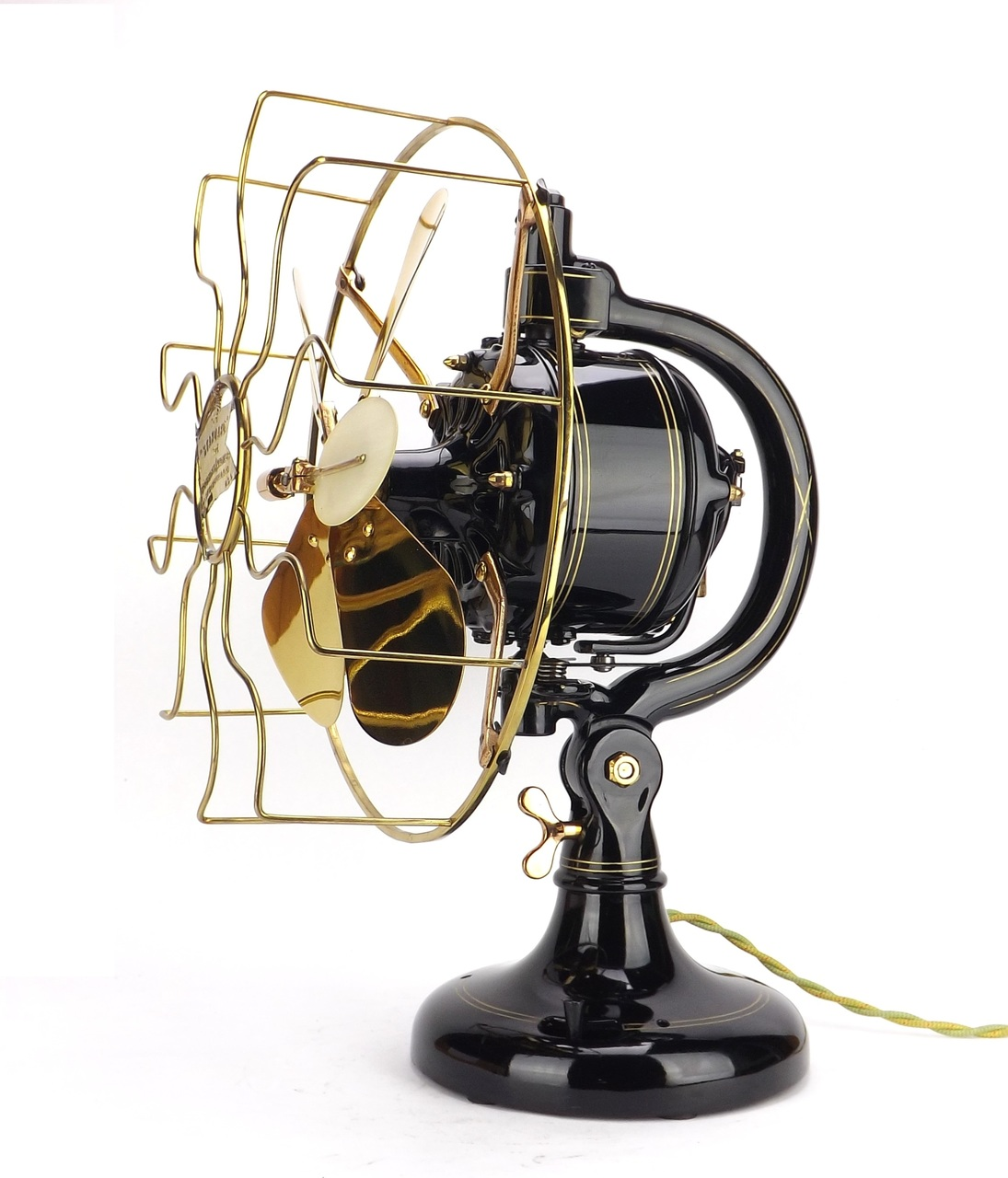 "Rare 12"" Robbins & Myers Feathervane Oscillator Professionally Restored"