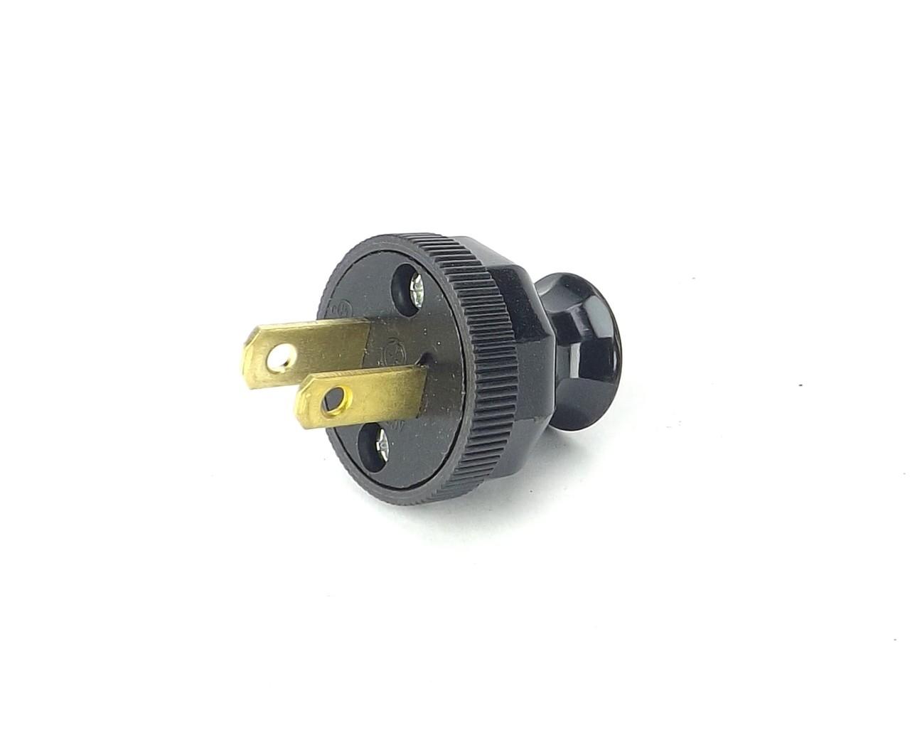 """Handy Grip"" Black Bakelite Style Attachment Plug"