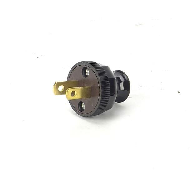 """""""Handy Grip"""" Brown Bakelite Style Attachment Plug"""