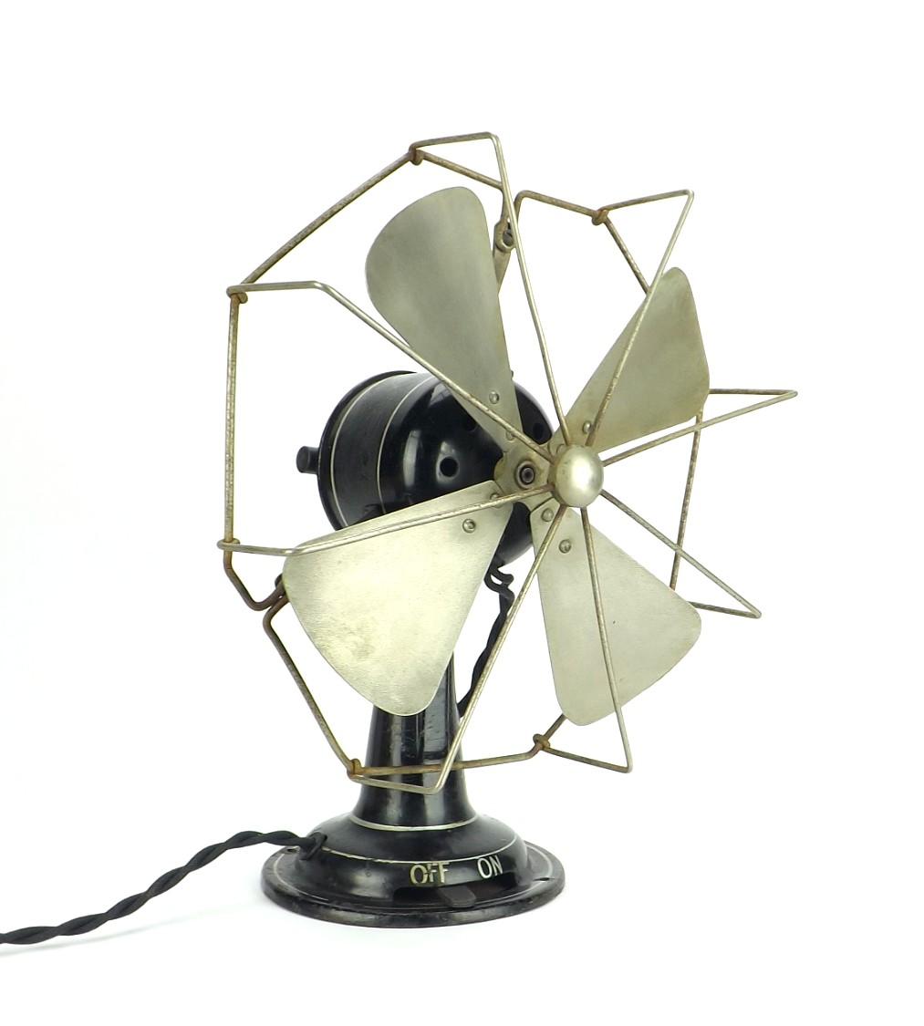 "Circa 1930 10"" Revo England Desk Fan"