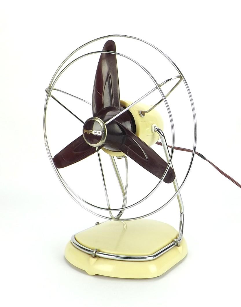 Circa 1930's Pifco Modernistic Desk Fan
