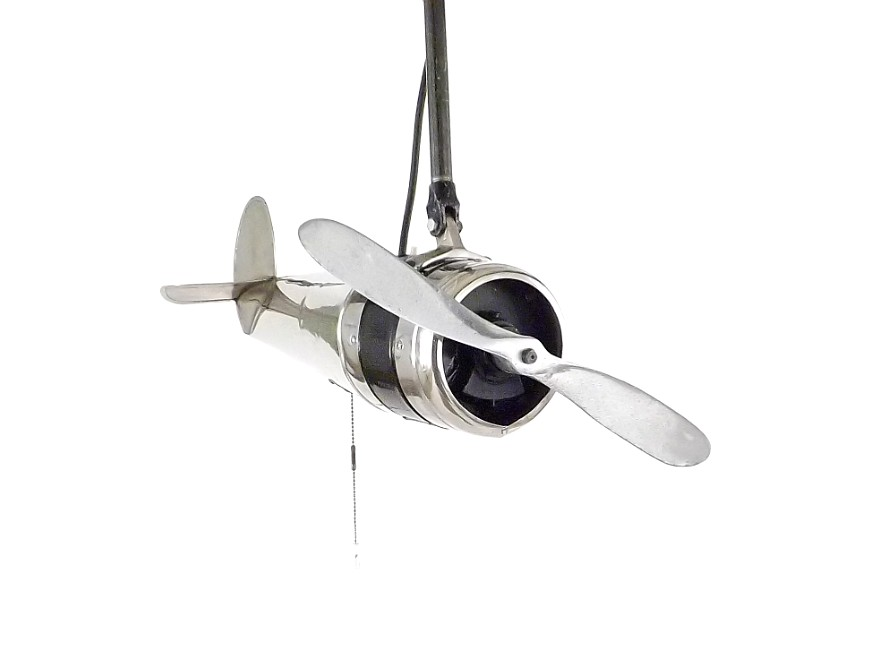Original 1930's Dallas Air Plane Ceiling Fan