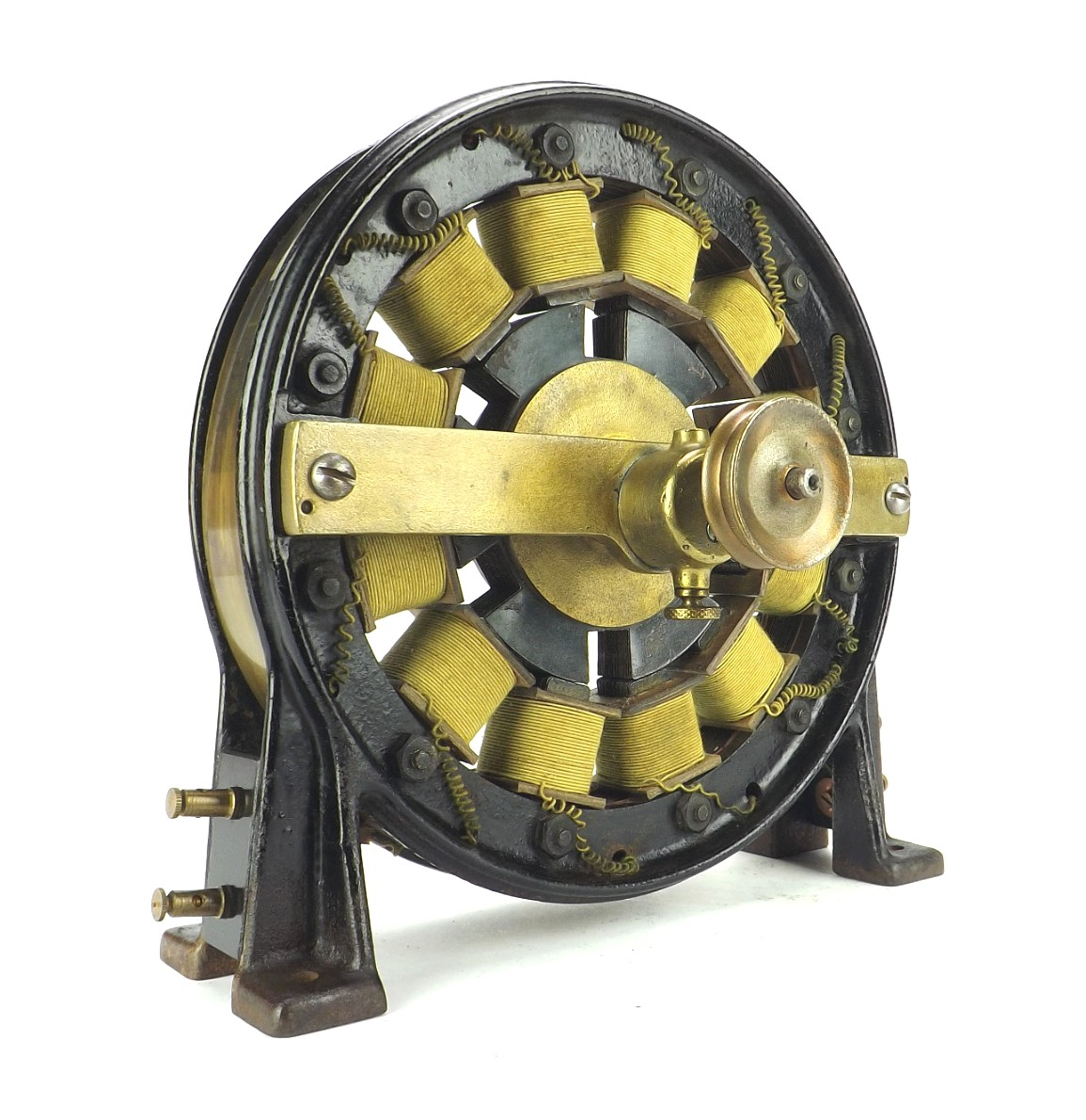 Circa 1893 Kennelly Therapeutic Alternator Manufactured By Edison Mfg. Co. Orange N.J.