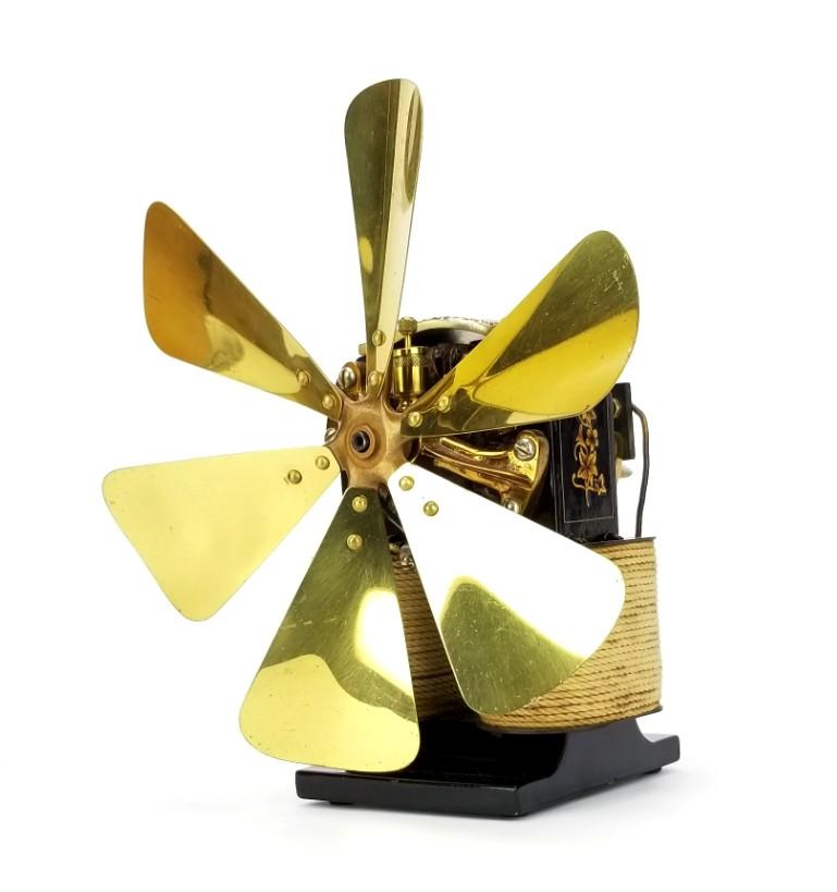 1890 Riker Electric Motor Company Bipolar Fan