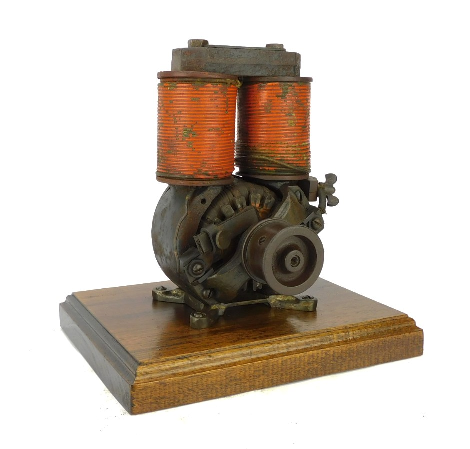 1886 C&C Electric Motor Co. Utility 1E Bipolar Motor